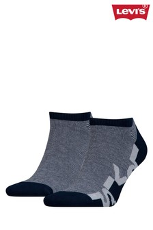 Levi's® Low Rise Multi Stripe Socks Two Pack