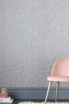 Paste The Wall Crushed Velvet Wallpaper