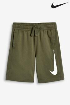 Nike Khaki Swoosh Short