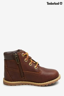 """Timberland® Dark Brown Pokey Pine 6""""  Boots"""