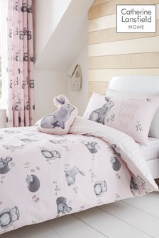 Catherine Lansfield Woodland Friends Bed Set