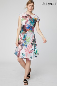 Thought Pink Solar Flower Dress