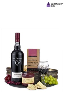 Port And Cheese Gift Hamper by Lanchester Gifts