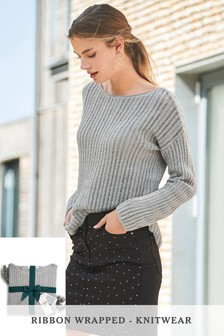 Sequin Yarn Sweater
