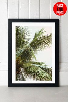 Palm Trees by Honeymoon Hotel Framed Print