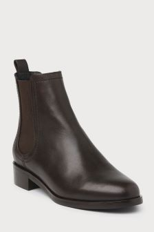 L.K.Bennett Brown Blair Pointed Ankle Boot
