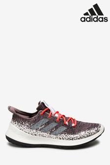 Пурпурные кроссовки для бега adidas SenseBounce+