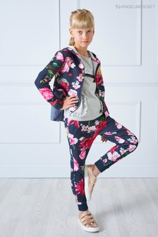 Angel & Rocket Floral Trouser