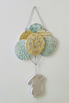 Hello Baby 2019 Hanging Decoration