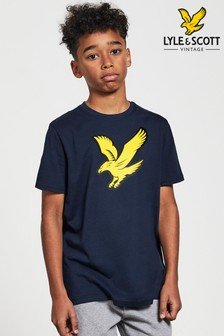 Lyle & Scott T-Shirt mit Adler