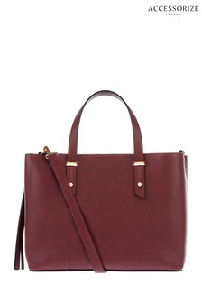 Accessorize Burgundy Emma Handbag
