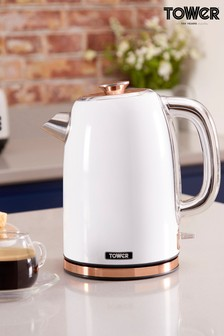 Tower White Jug Kettle
