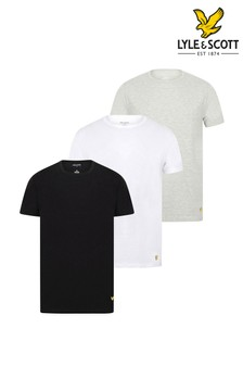 Lyle & Scott Maxwell Lounge T-Shirt Three Pack