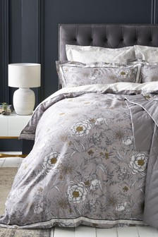 Heritage Floral Duvet Cover And Pillowcase Set