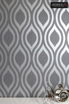 Arthouse Luxe Ogee Geo Wallpaper