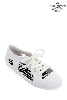 Vivienne Westwood White Brighton Cut Out Sneaker