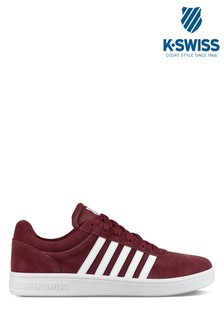 K-Swiss Burgundy Backspin Trainer