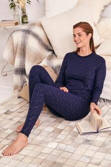 Medium Weight Truetherm™ Long Sleeve Top And Leggings Set