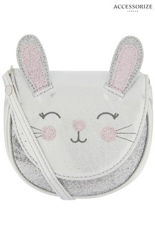 Accessorize Grey Bella Bunny Across Body Bag