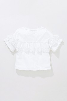 Broderie Frill Top (3-16yrs)
