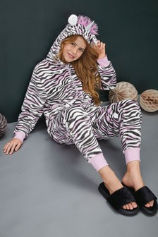 Zebra Fleece All-In-One (1.5-16yrs)