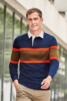 Knitted Rugby Shirt
