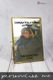 Personalised Graduation Photo Frame by Loveabode