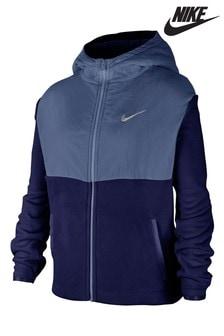 Nike Blue Therma Hoody