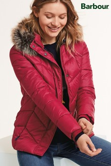 Barbour® Coastal Bordeaux Downhall Quilted Jacket