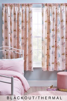 Magical Woodland Pencil Pleat Curtains