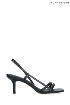 Kurt Geiger London Feefee Black Heels