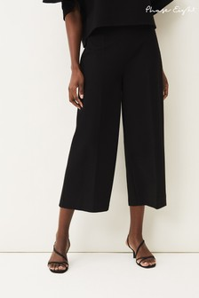 Phase Eight Black Sienna Culotte Jersey Ponte Co-ord