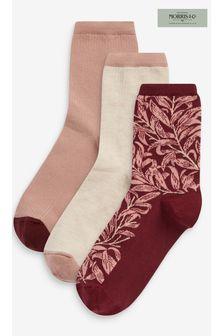 Morris & Co. at Next Print Ankle Socks 3 Pack