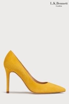 L.K.Bennett Yellow Fern Court Shoe