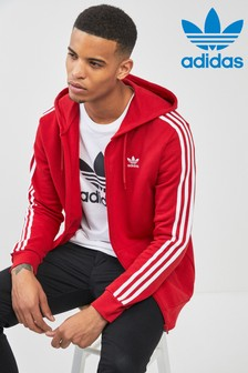 Sweat à capuche adidas Originals zippé avec 3 bandes