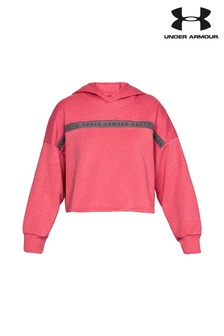 Under Armour Pink Taped Hoody