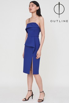 Outline Blue Harper Dress