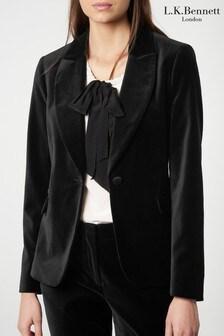 L.K.Bennett Black Romie Jacket