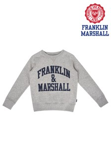 Franklin & Marshall Grey Sweater