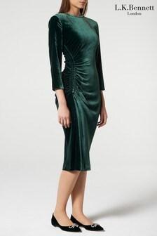 שמלה של L.K.Bennett דגם Izzy בירוק