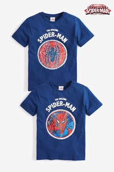 Sequin Change Spider-Man™ T-Shirt (3-14yrs)