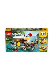 LEGO® 3-in-1 Riverside Houseboat Model 31093
