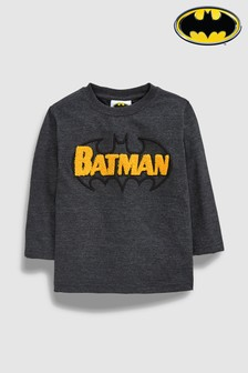 Long Sleeve Batman® T-Shirt (3mths-6yrs)