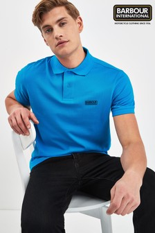 Barbour® International Turquoise Essential Polo