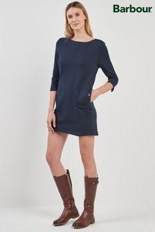 שמלה של Barbour® דגם Port בצבע נייבי