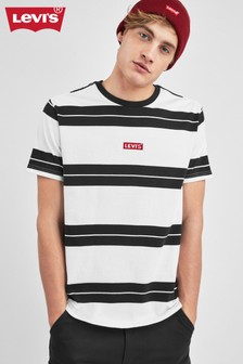 Levi's® White Stripe Housemark Logo T-Shirt