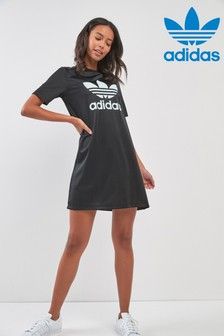 adidas Originals Black 70's Kick Dress