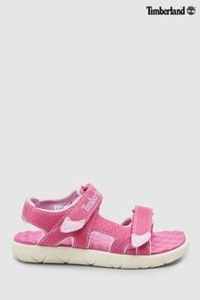 Timberland® Pink Perkins Row 2 Strap Sandal