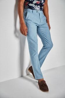 Костюм из льняной смеси: брюки