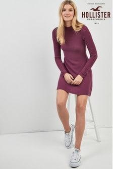 Hollister High Neck Cozy Dress